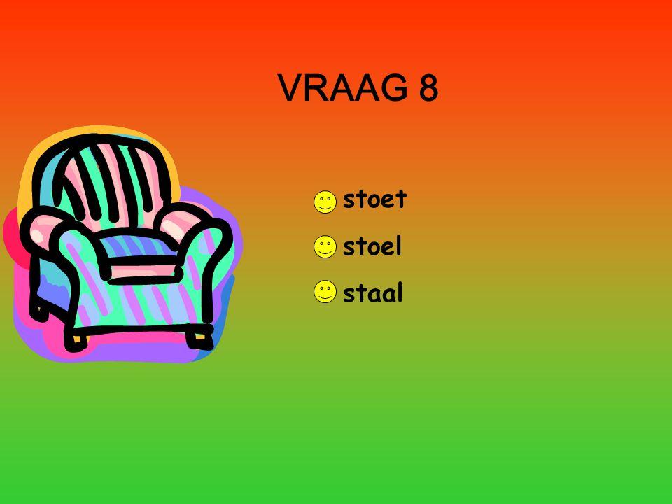 VRAAG 9 boel bok boek