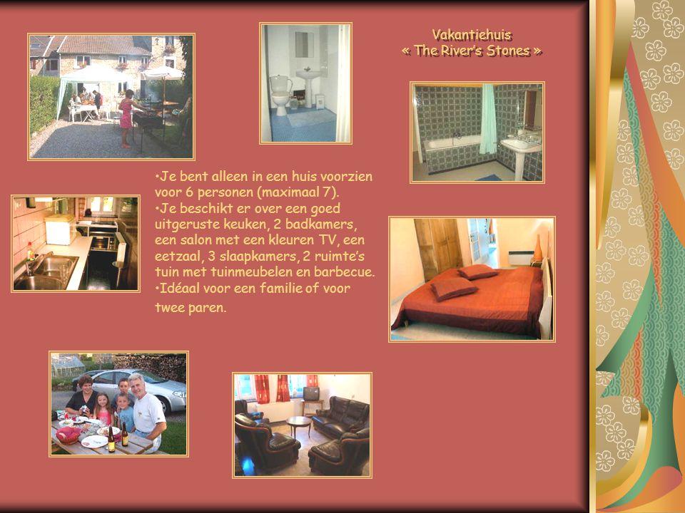 •Je bent alleen in een huis voorzien voor 6 personen (maximaal 7).