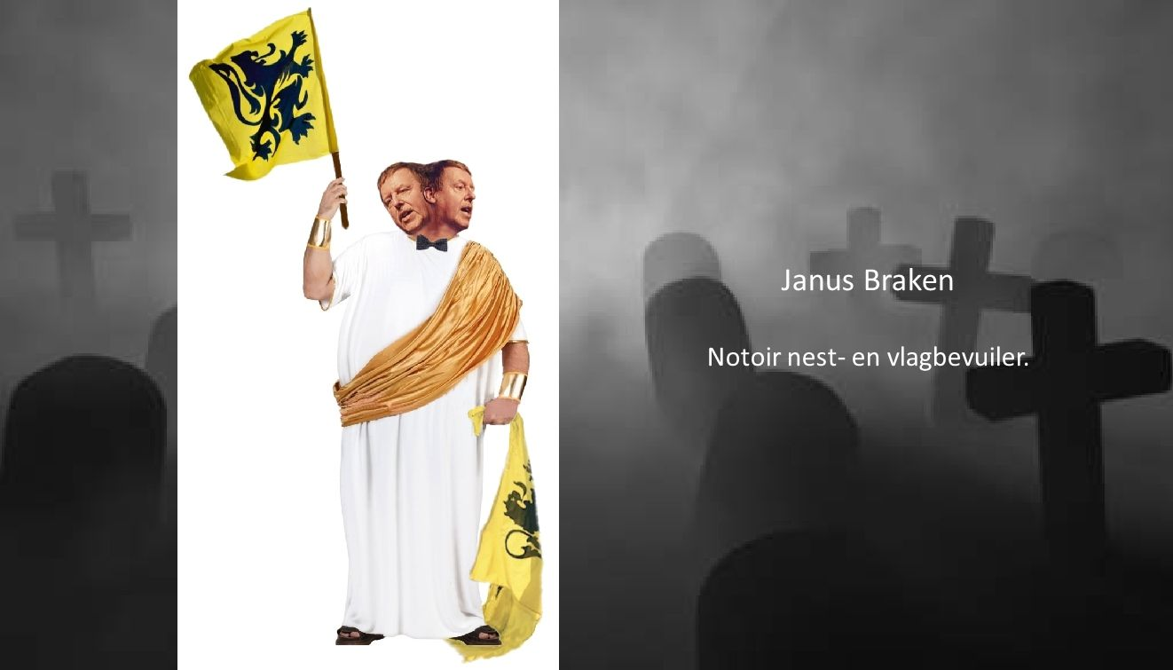 Janus Braken Notoir nest- en vlagbevuiler.