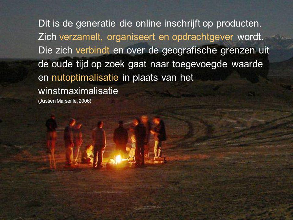 © Twynstra Gudde 17-11-2007 Van Patient0.1 tot zorgconsument2.0 27 Dit is de generatie die online inschrijft op producten.