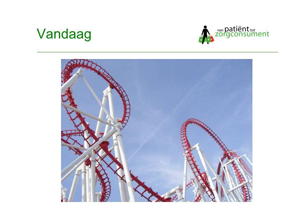 © Twynstra Gudde 17-11-2007 Van Patient0.1 tot zorgconsument2.0 4 Vandaag