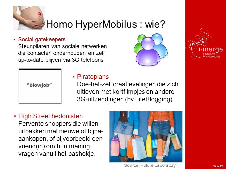 Slide 12 Homo HyperMobilus : wie.