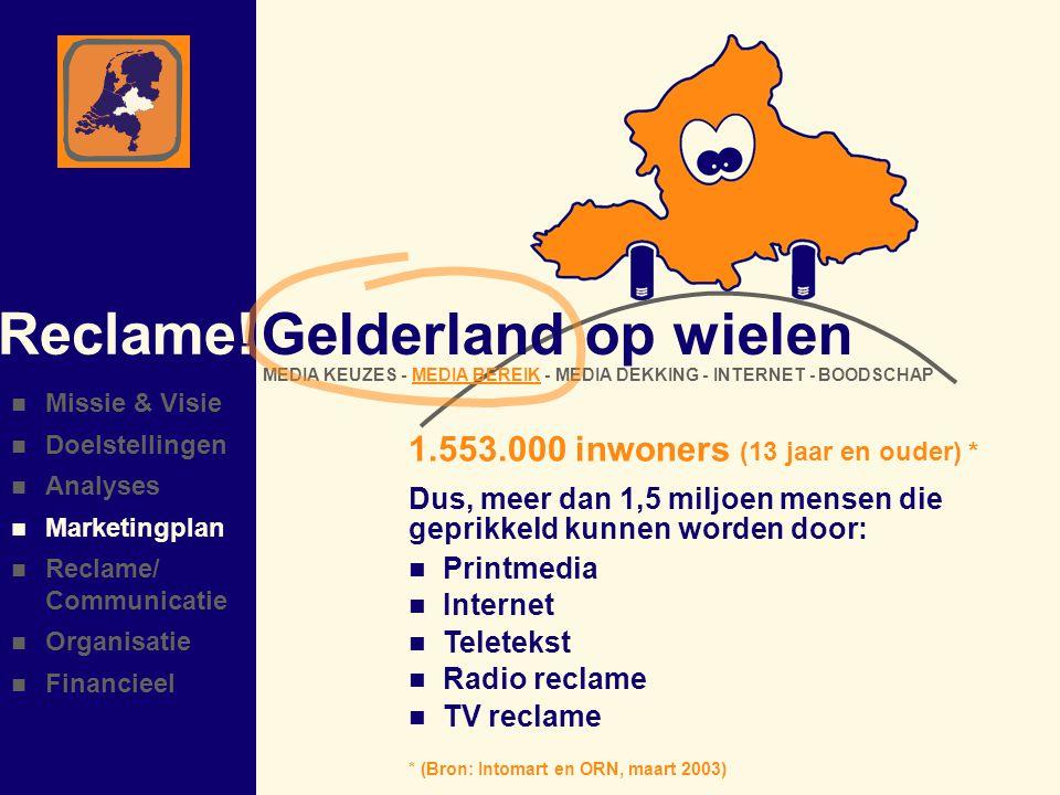 Gelderland op wielen Reclame.