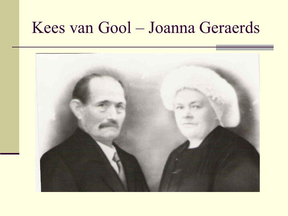  Oervader Kees van Gool  Die had toch grote oren  Waardoor wij allemaal  Nu heel goed kunnen horen.