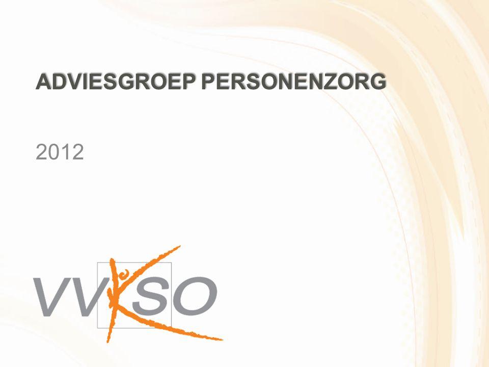 ADVIESGROEP PERSONENZORG 2012