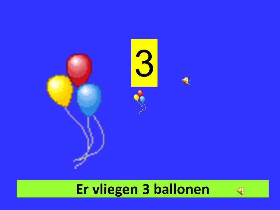 Er vliegen 2 ballonen. 2
