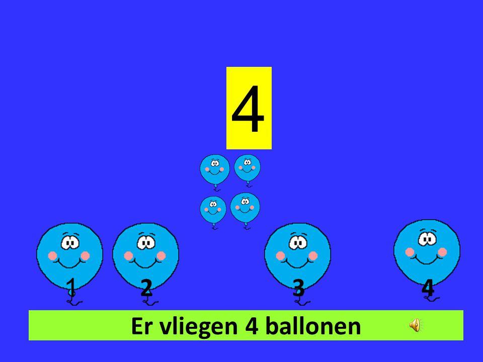 Er vliegen 3 ballonen 3