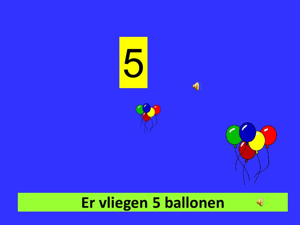 Er vliegen 4 ballonen 1 234 4
