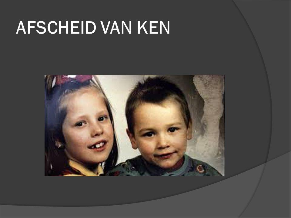 AFSCHEID VAN KEN Op 4 januari 1994 verdwenen in Antwerpen de kinderen, Kim en Ken Heyrman. Familie en vrienden herdachten dat. Kim en Ken waren 20 jaa