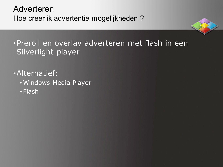 Adverteren Hoe creer ik advertentie mogelijkheden .