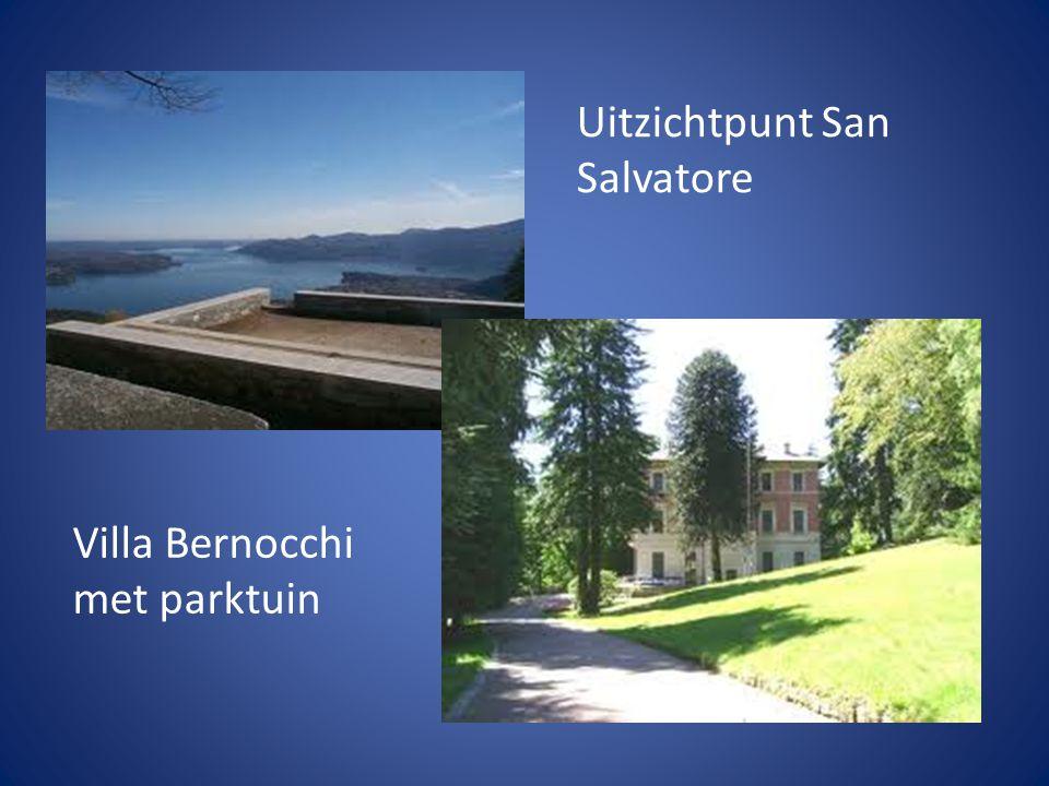 Uitzichtpunt San Salvatore Villa Bernocchi met parktuin