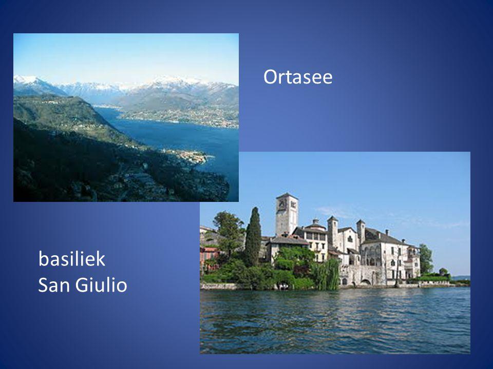 Ortasee basiliek San Giulio