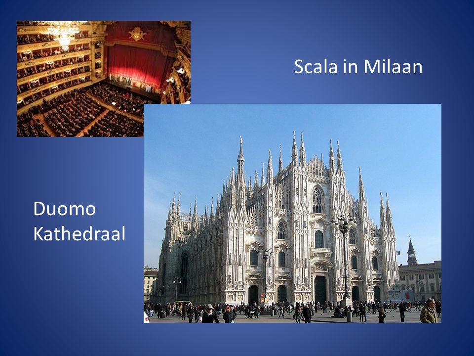 Scala in Milaan Duomo Kathedraal