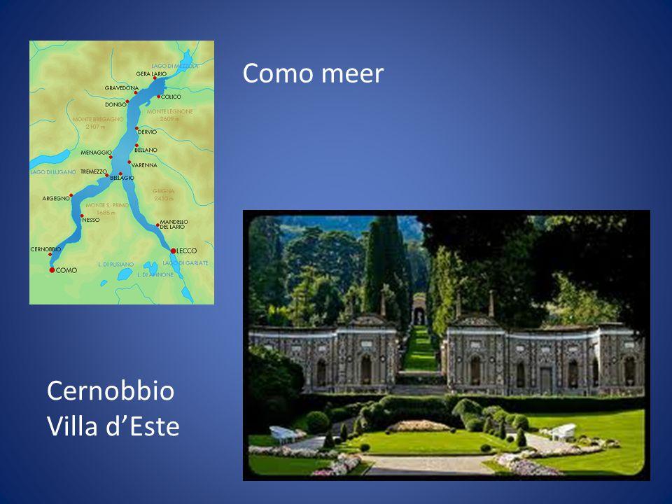 Como meer Cernobbio Villa d'Este