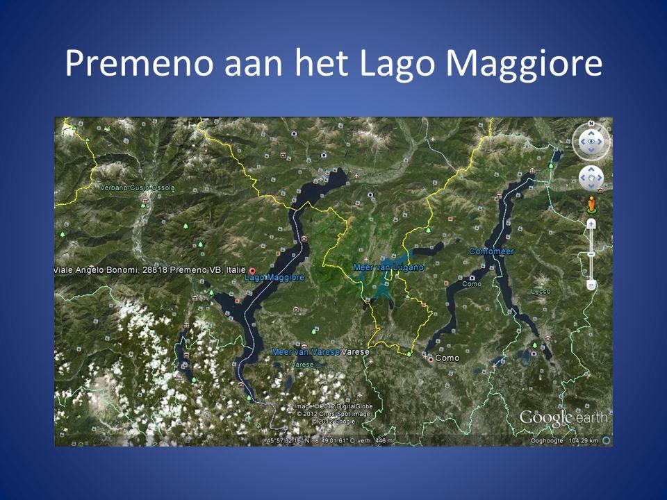 Premeno aan het Lago Maggiore