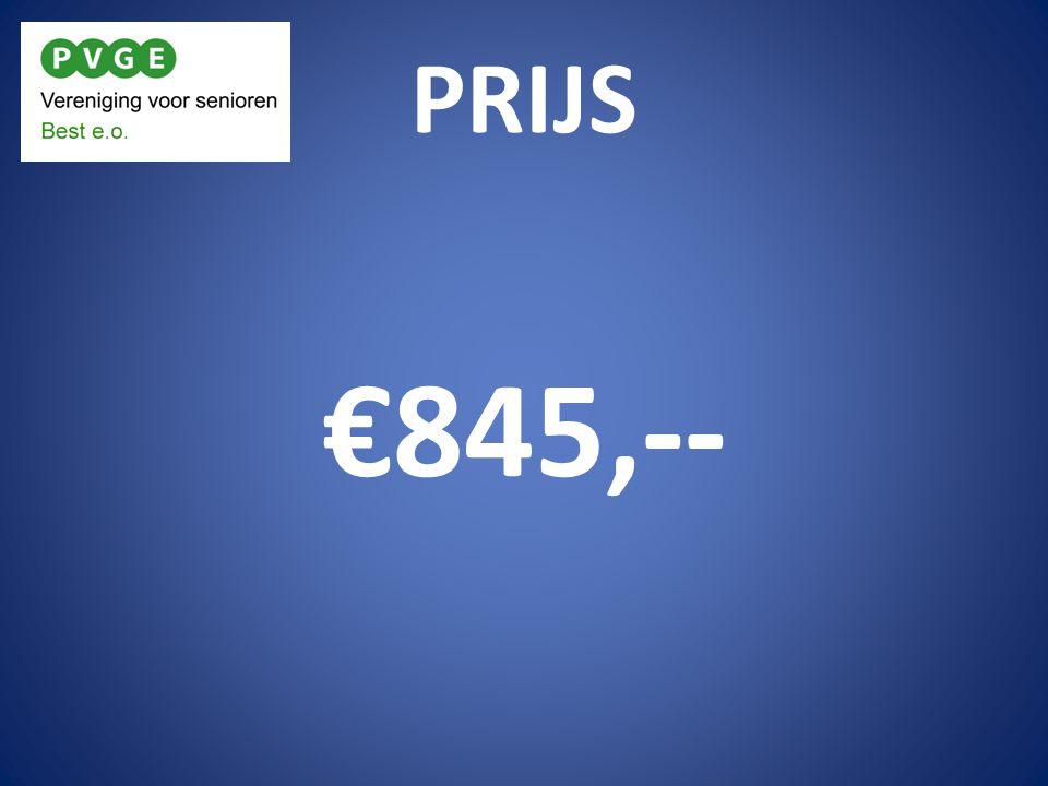 PRIJS €845,--