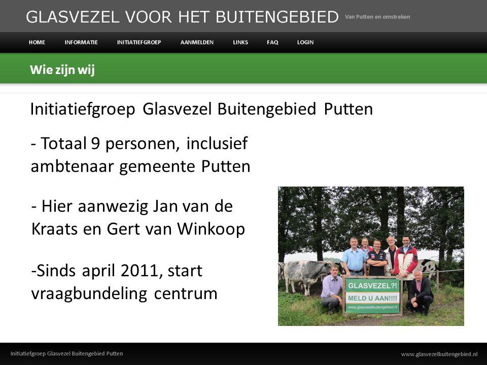 Ons doel: breedband voor de ALLE inwoners van Putten.