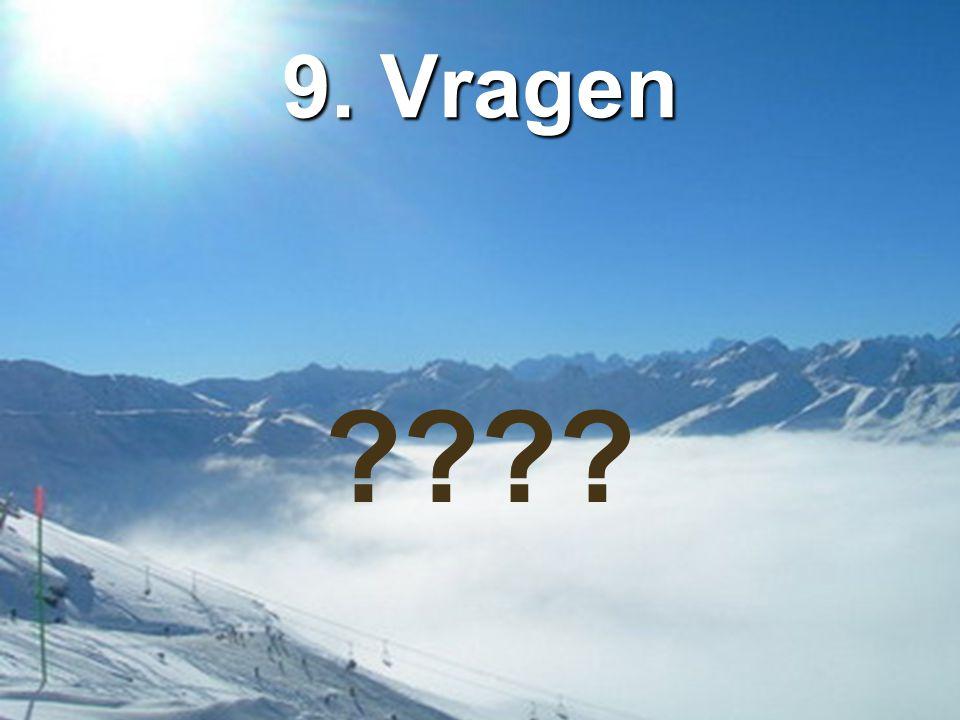 9. Vragen ????