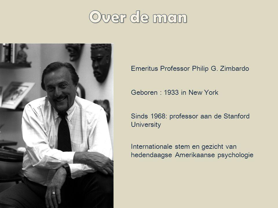 Emeritus Professor Philip G.