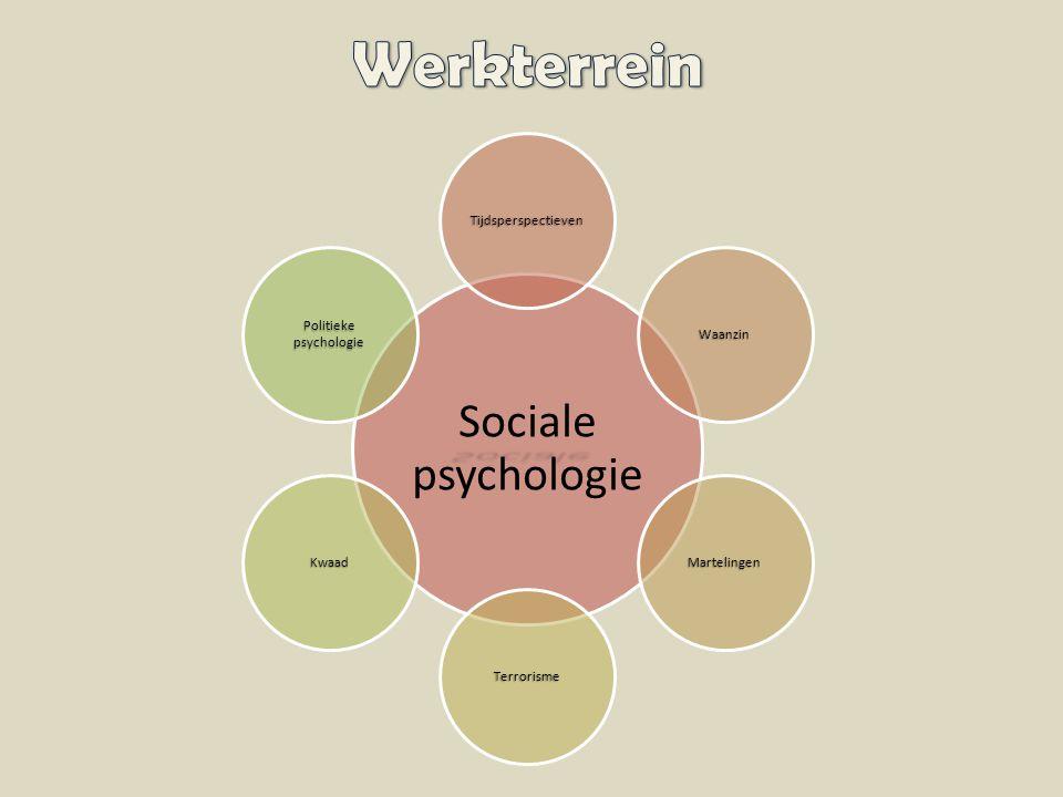 Sociale Sociale psychologie Tijdsperspectieven Waanzin Martelingen Terrorisme Kwaad Politieke psychologie