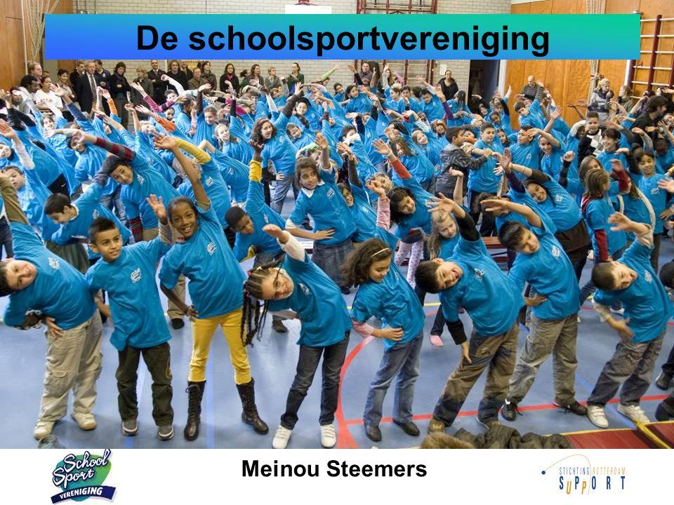 De schoolsportvereniging Meinou Steemers