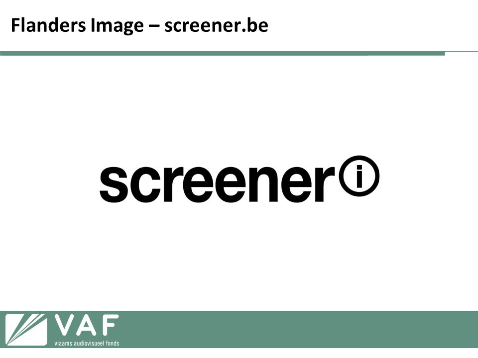 Flanders Image – screener.be