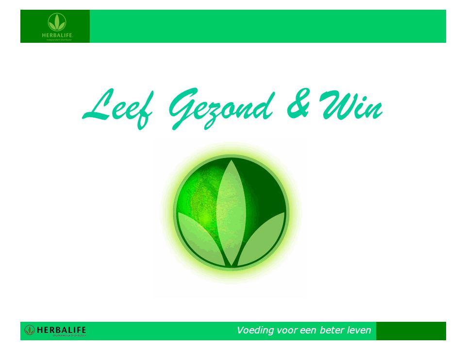 Leef Gezond & Win Voeding voor een beter leven