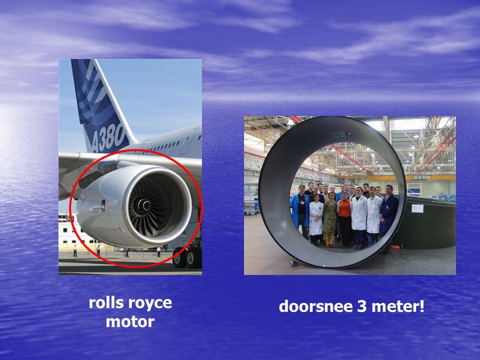 rolls royce motor doorsnee 3 meter!