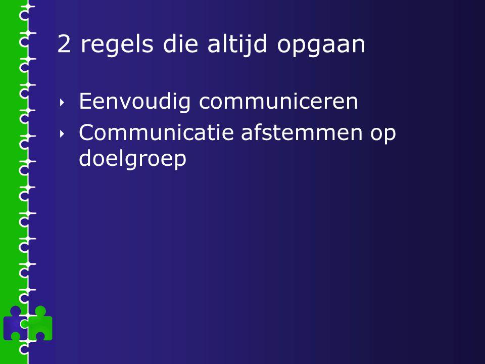 Eenvoudig communiceren, wat is dat.
