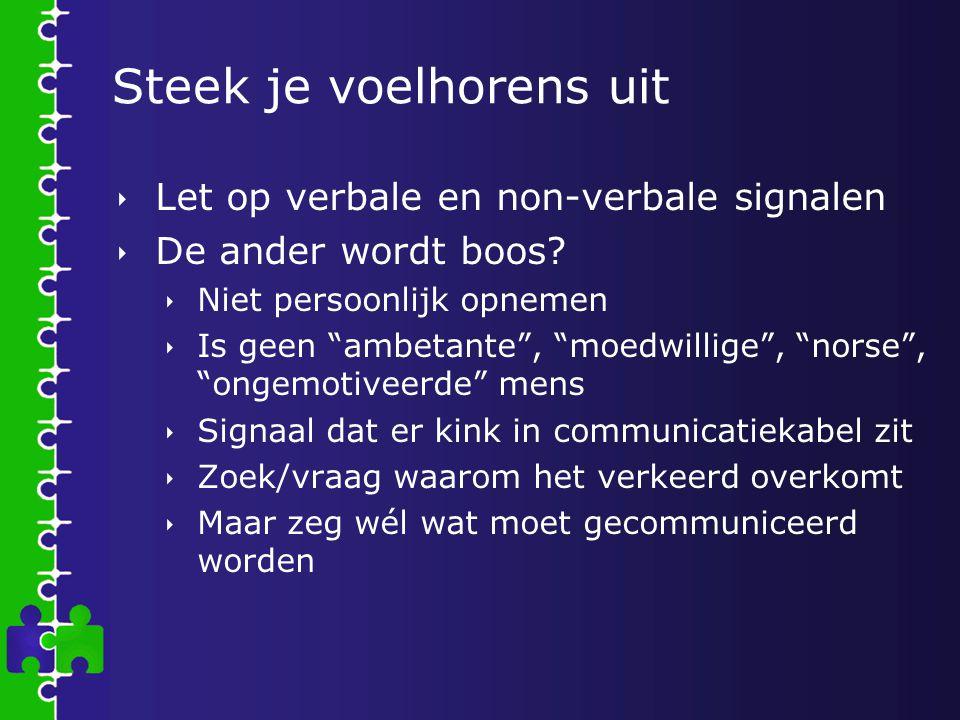 De mosterd kwam van…  Els Dezeure  ROC Limburg – PGZ, KB  VIG  Inspiratieboek mondelinge en schriftelijke communicatie tussen school en ouders (2005) LOP Menen  Elkaar vinden: bouwstenen voor het communiceren met kansarme doelgroepen.
