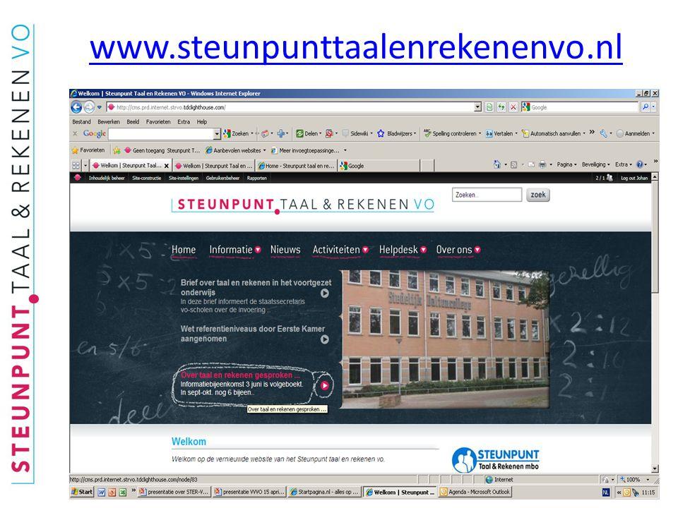 www.steunpunttaalenrekenenvo.nl