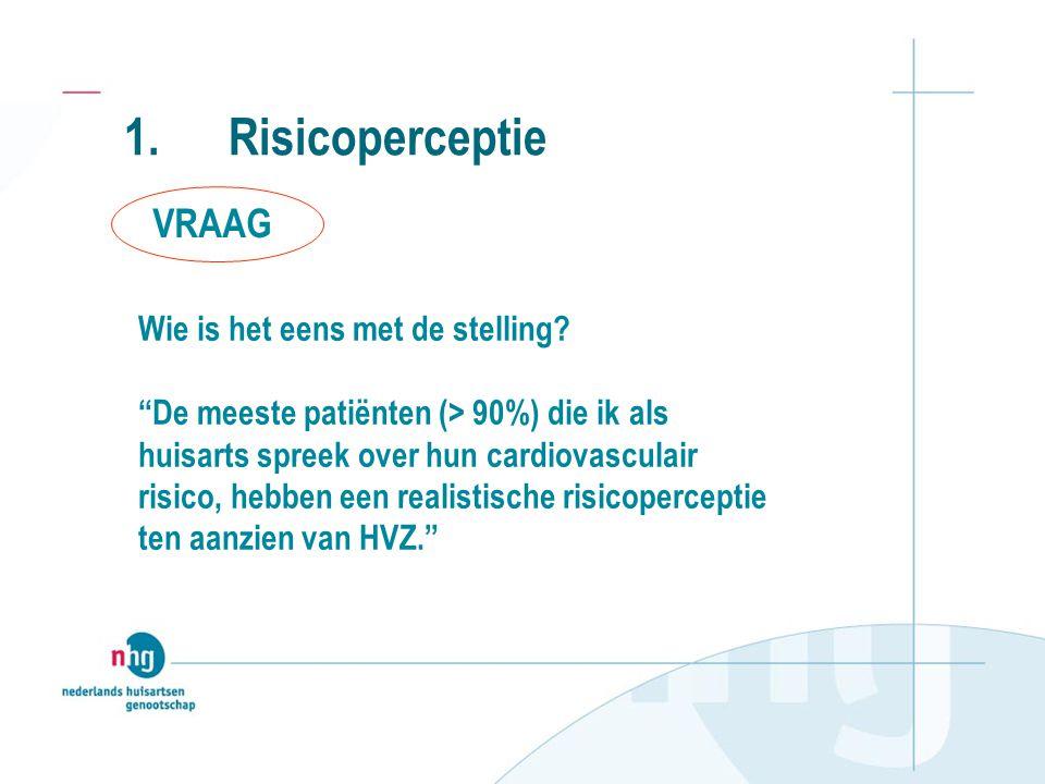 3. Communicatie over risicoreductie •RRR:0,5 / 1,7 = 29% •ARR:1,7 – 1,2 = 0,5% •NNT:1 / 0,005 = 200