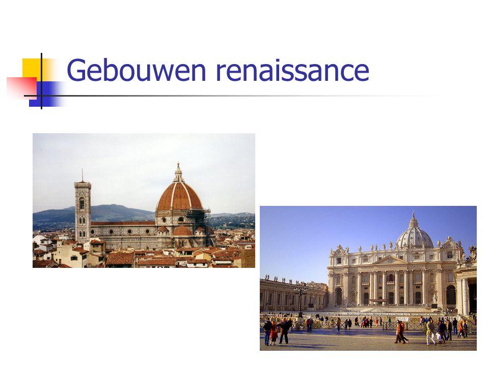 Gebouwen renaissance