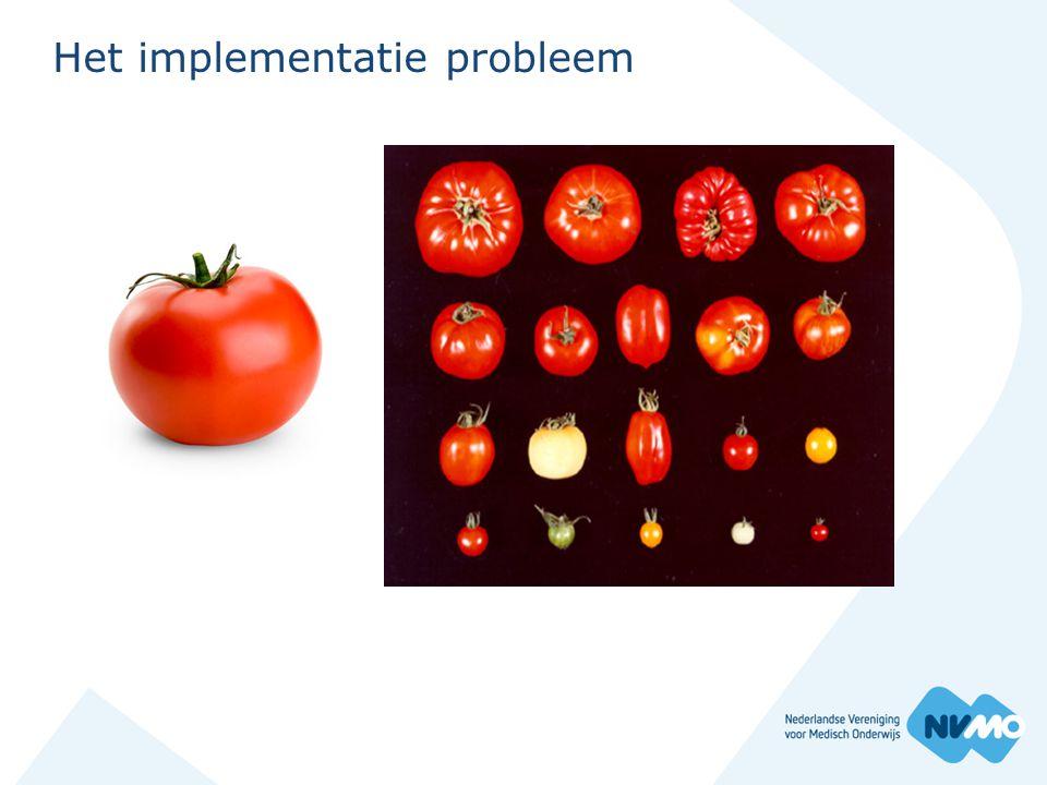 Het implementatie probleem