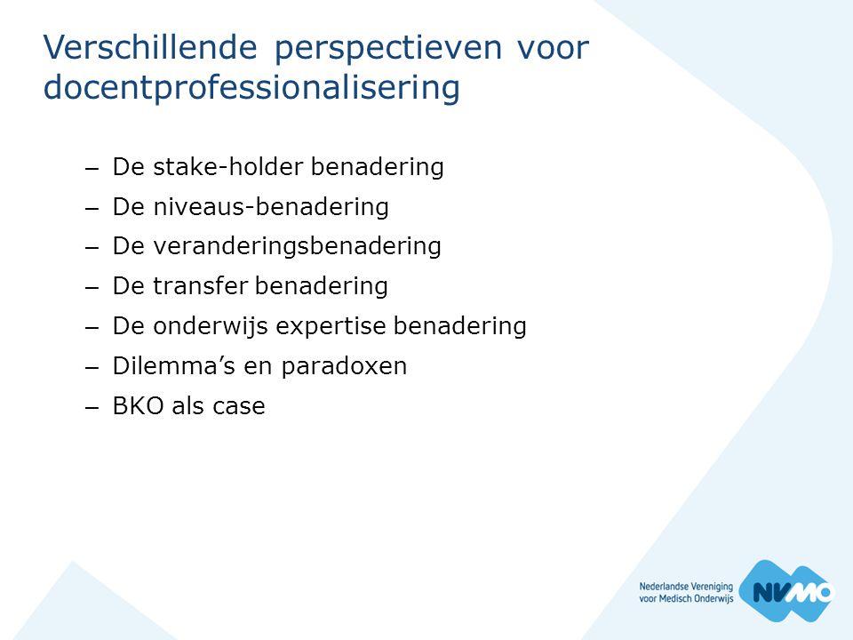 Stakeholders- benadering