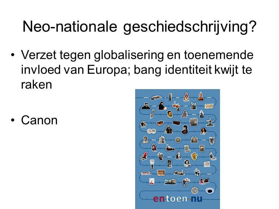 Neo-nationale geschiedschrijving.