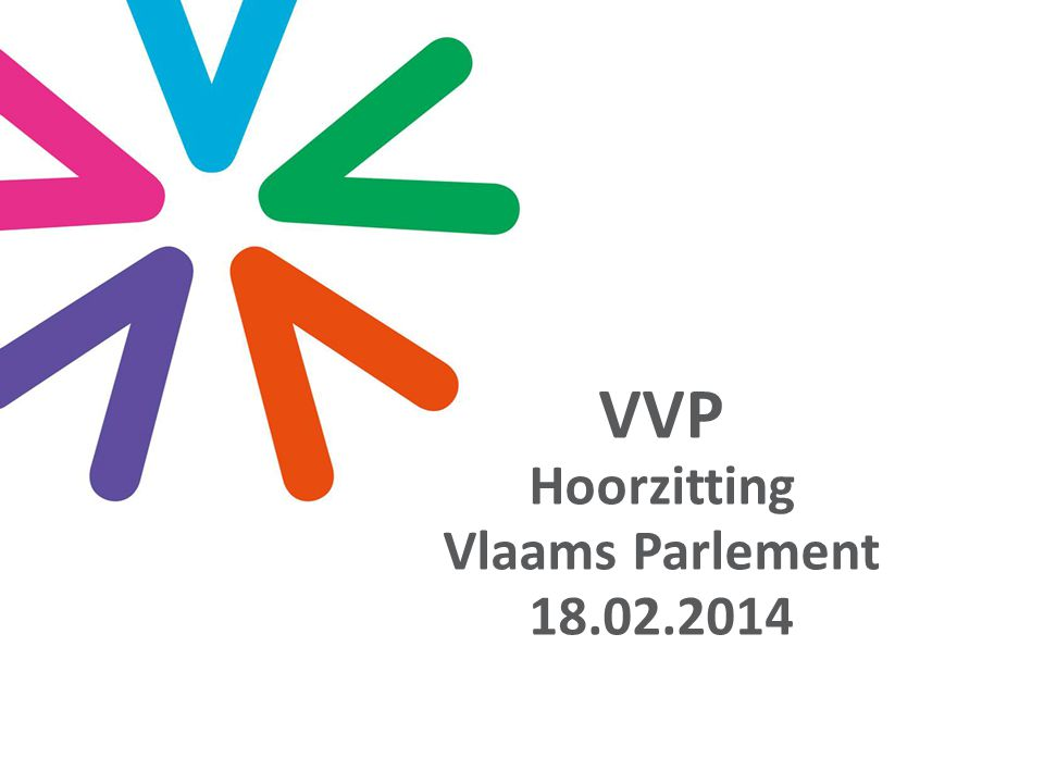 VVP Hoorzitting Vlaams Parlement