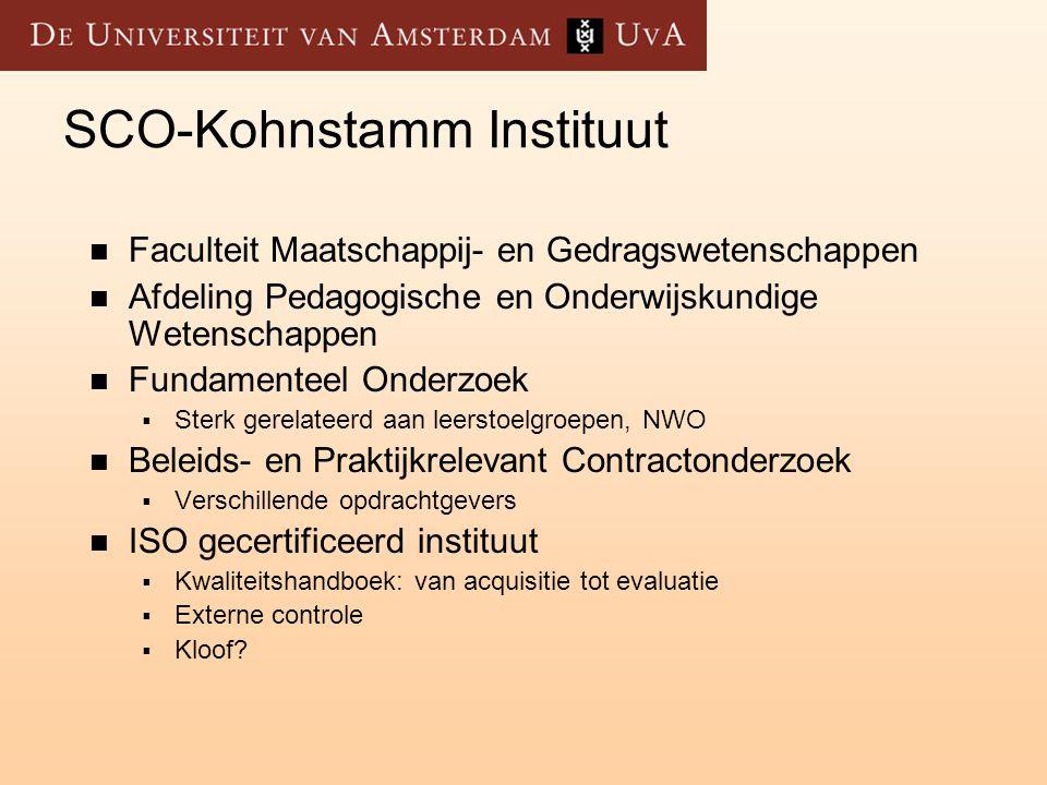 De markt  Conculega's  ITS  IVA  GION  Research voor Beleid  Regioplan  Oberon  Etc.