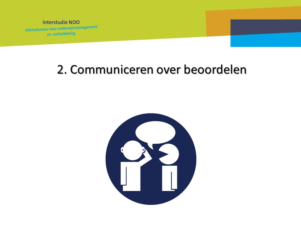 2. Communiceren over beoordelen