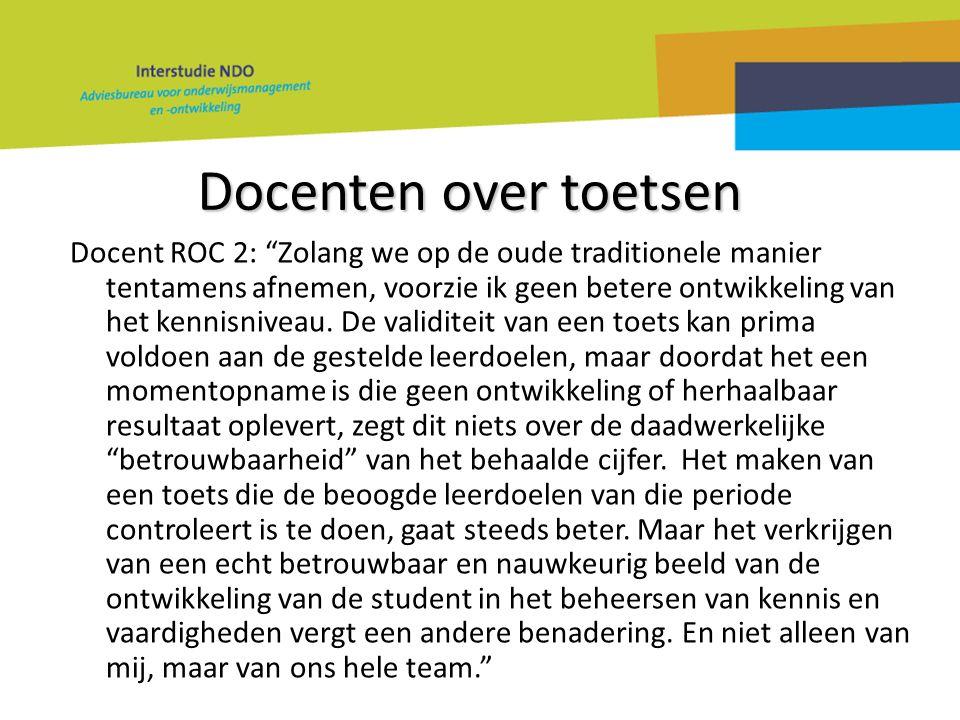 """Docenten over toetsen Docent ROC 2: """"Zolang we op de oude traditionele manier tentamens afnemen, voorzie ik geen betere ontwikkeling van het kennisniv"""