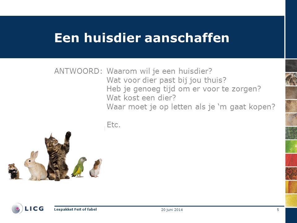 Een huisdier aanschaffen ANTWOORD:Waarom wil je een huisdier.