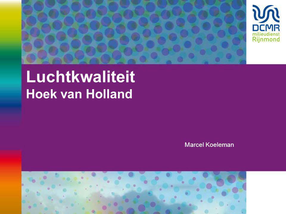 Luchtkwaliteit Hoek van Holland Marcel Koeleman