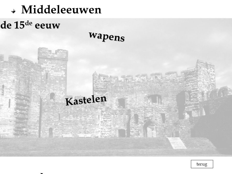 terug Middeleeuwen Kastelen wapens Mode in de 15 de eeuw Mode in de 15 de eeuw harnas terug