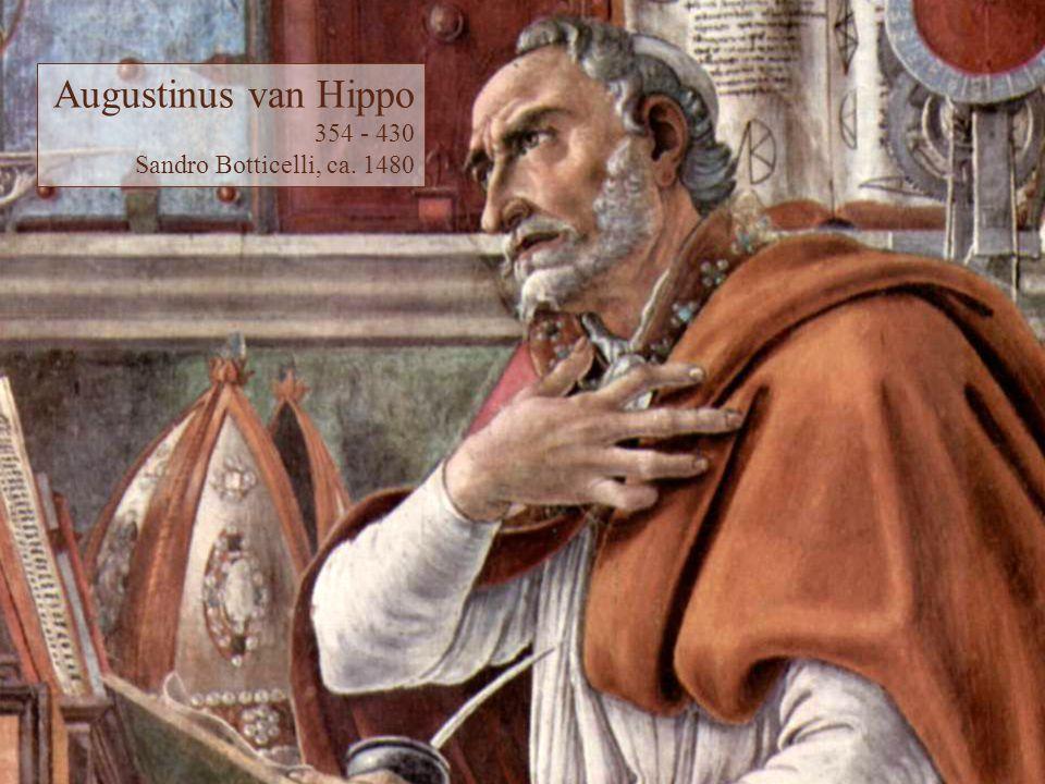 Augustinus van Hippo 354 - 430 Sandro Botticelli, ca. 1480