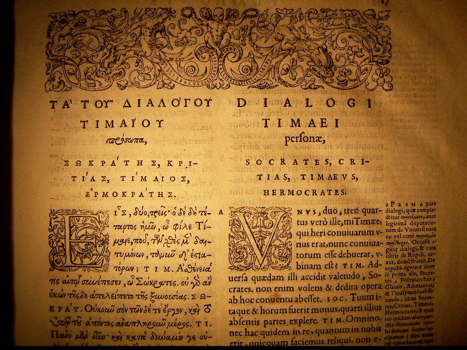 Tijd en beweging bij Plato geen tijd tijd