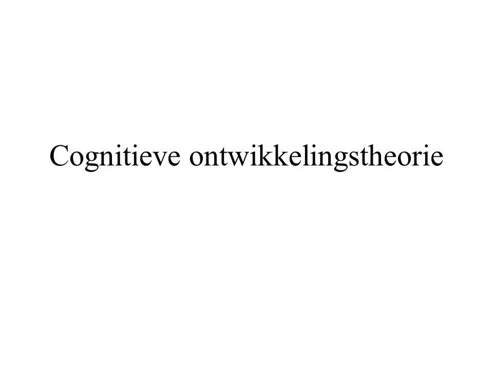 Cognitieve ontwikkelingstheorie