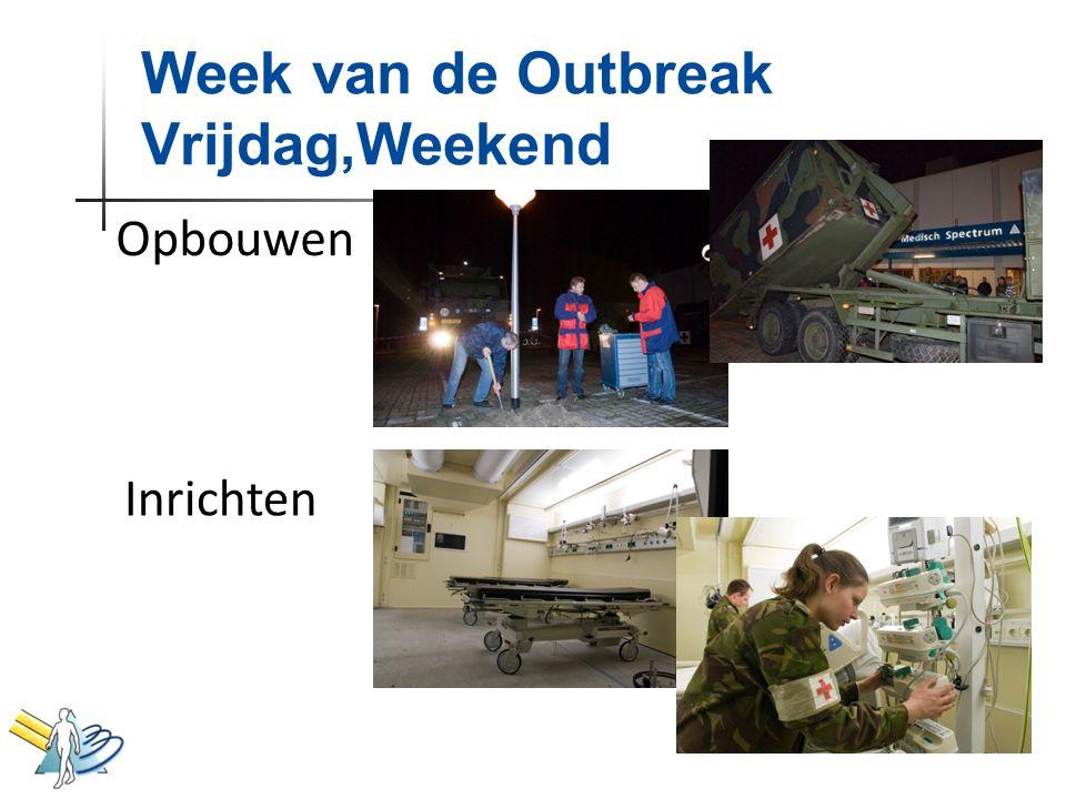 Opbouwen Inrichten Week van de Outbreak Vrijdag,Weekend