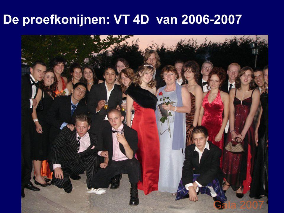 De proefkonijnen: VT 4D van 2006-2007 20-6-2014 10