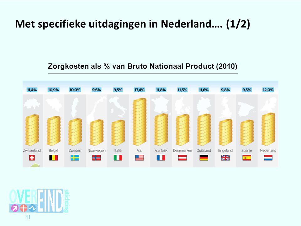 11 Met specifieke uitdagingen in Nederland….