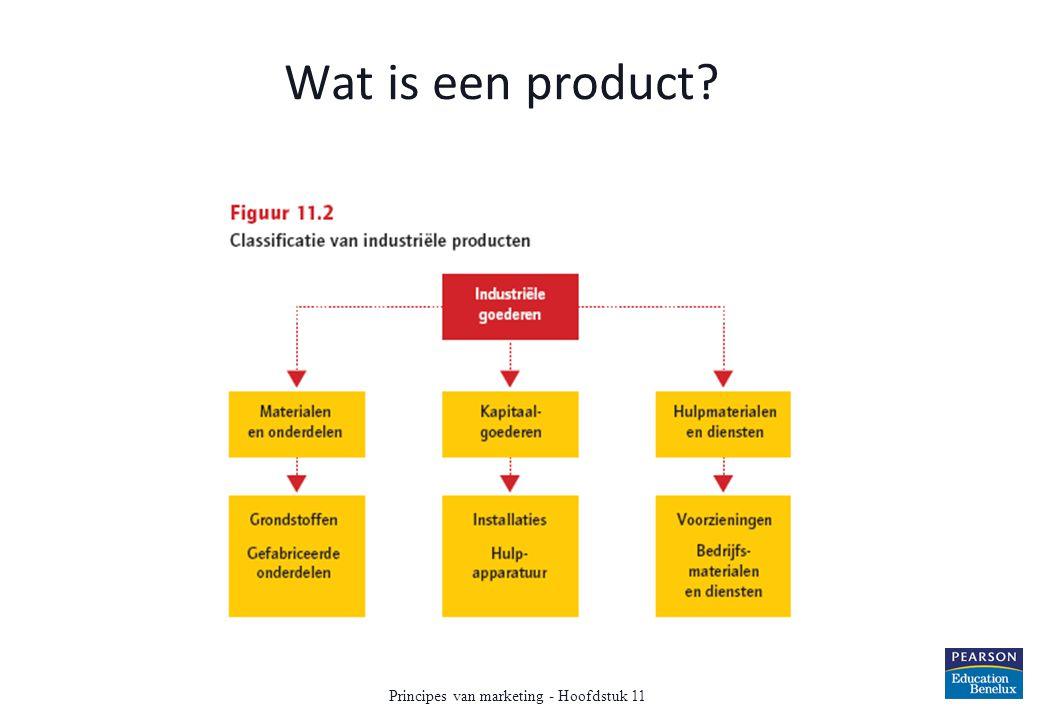 Wat is een product? Principes van marketing - Hoofdstuk 11